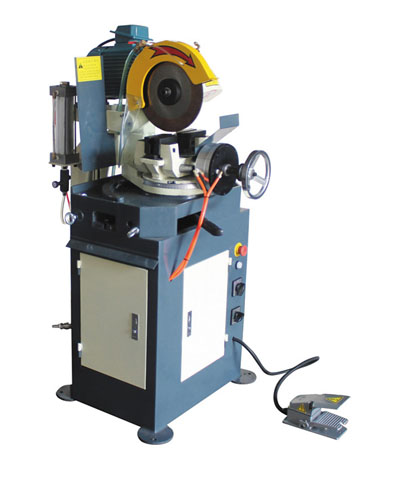 CS275-P pneumatic metal circular saw cold cutting machine